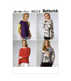 Butterick Misses Top-B6218