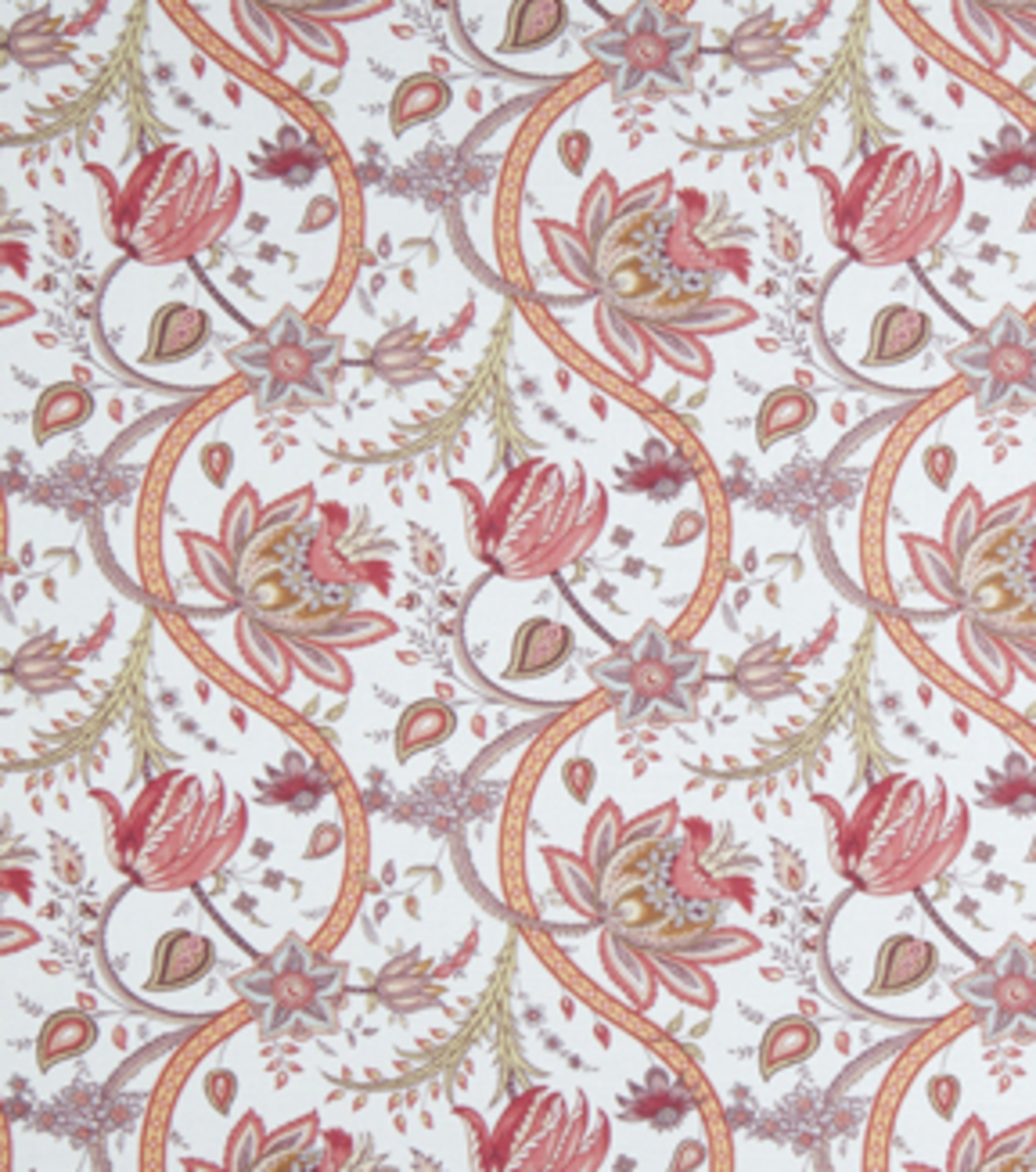Home Decor 8\u0022x8\u0022 Fabric Swatch-Upholstery Fabric Eaton Square Griffin Cerise