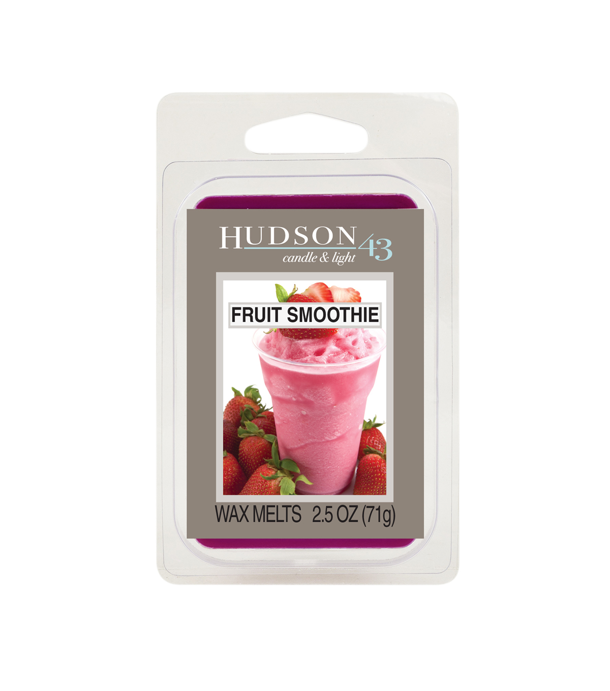 Hudson 43™ Candle & Light Collection Wax Melt-Fruit Smoothis