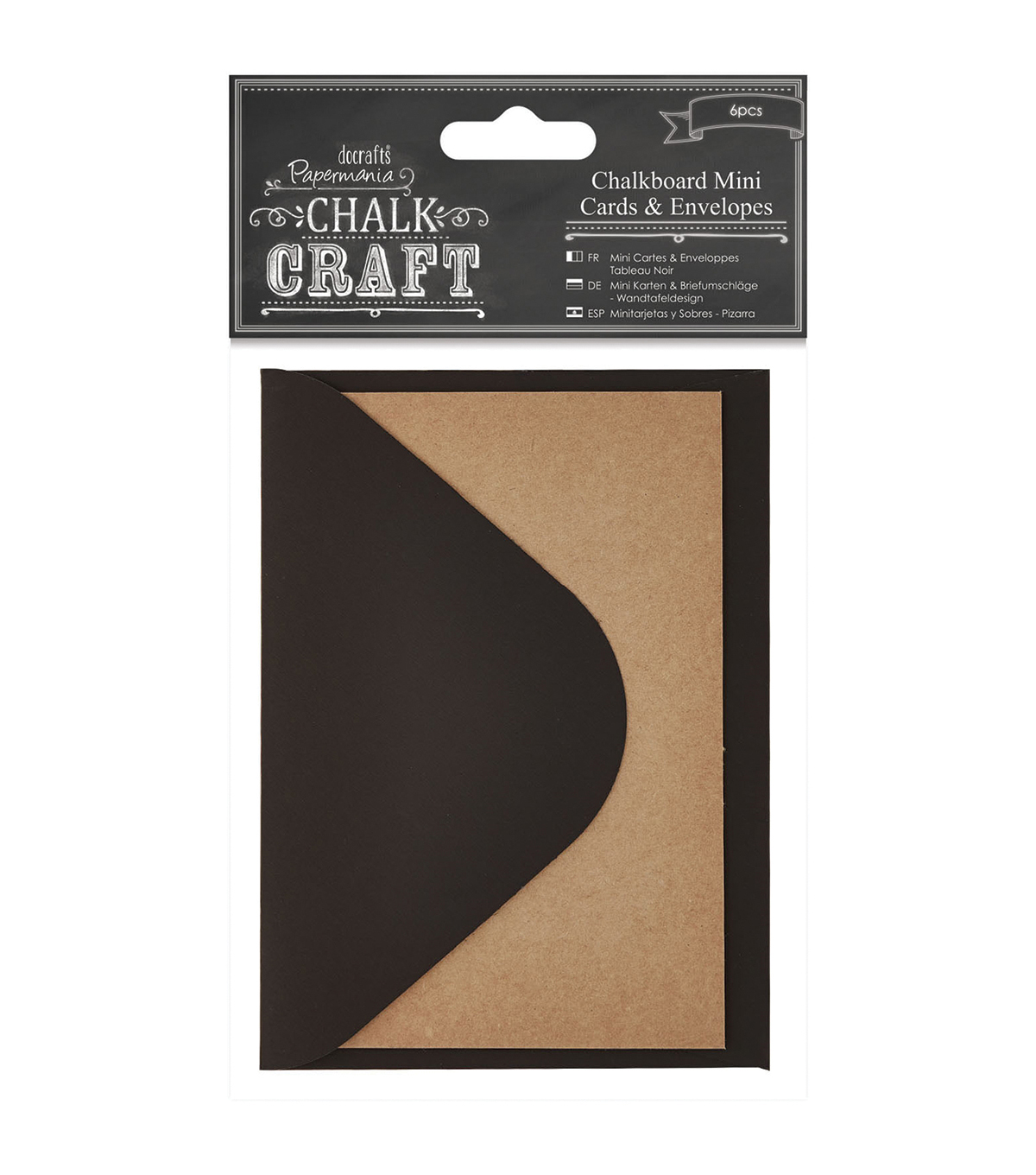 Papermania Chalk Craft Mini Chalkboard Cards & Envelopes
