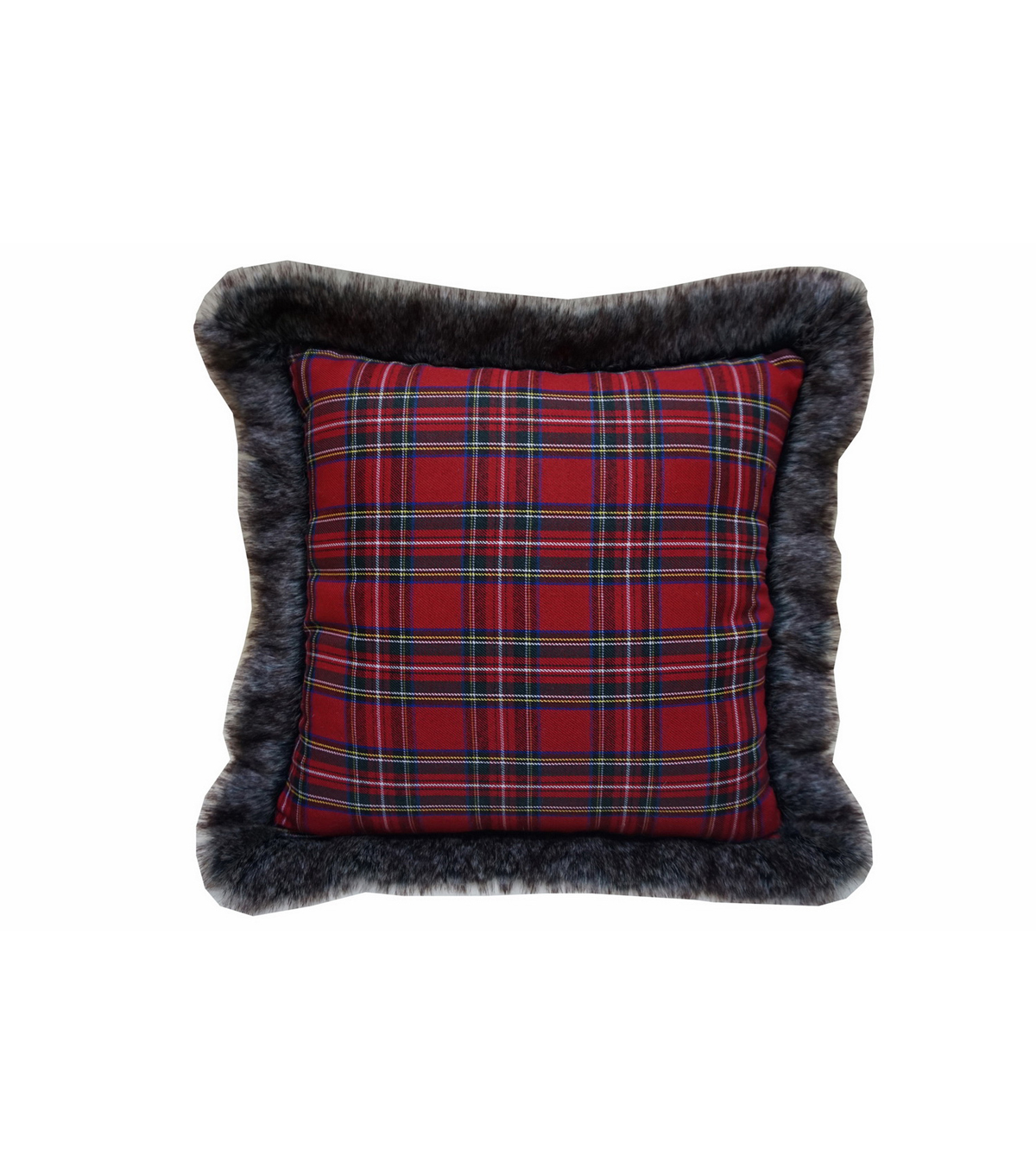 Maker's Holiday Pillow-Traditional Plaid