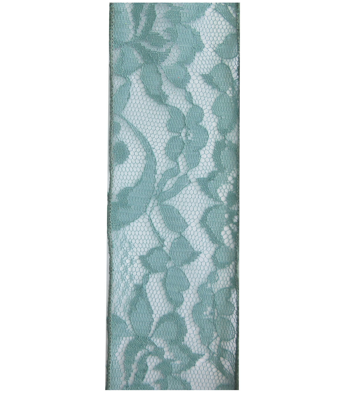 Decorative Ribbon 2.5\u0027\u0027x15\u0027 Lace Ribbon-Teal