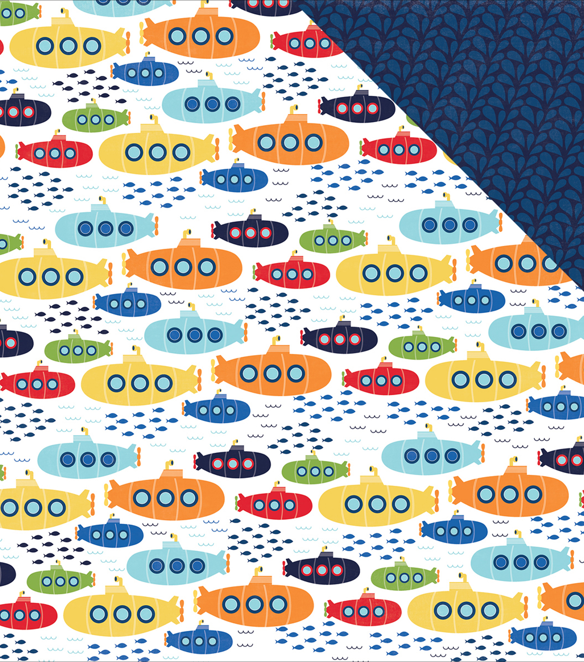 Under The Sea Double-Sided Cardstock 12\u0022X12\u0022-Sea Explorers