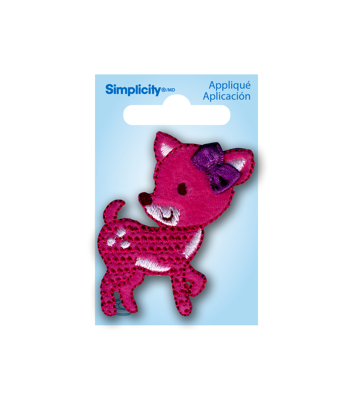 Simplicity® Applique-Pink Deer