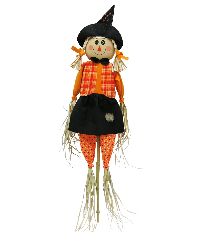makeru0027s halloween girl scarecrow