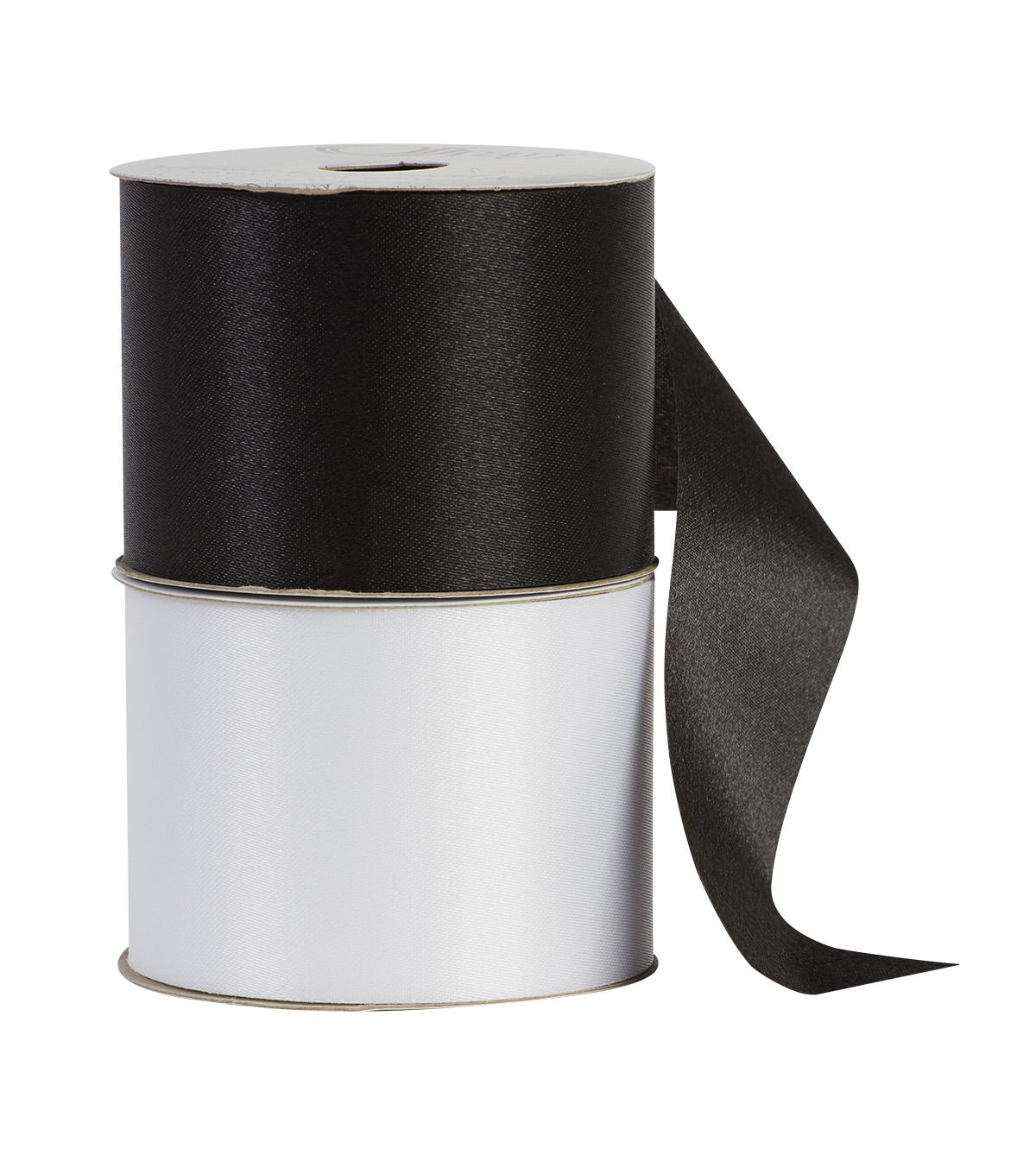 "Offray 2.25""x9' Seamaid Solid Accent Ribbon-Black"
