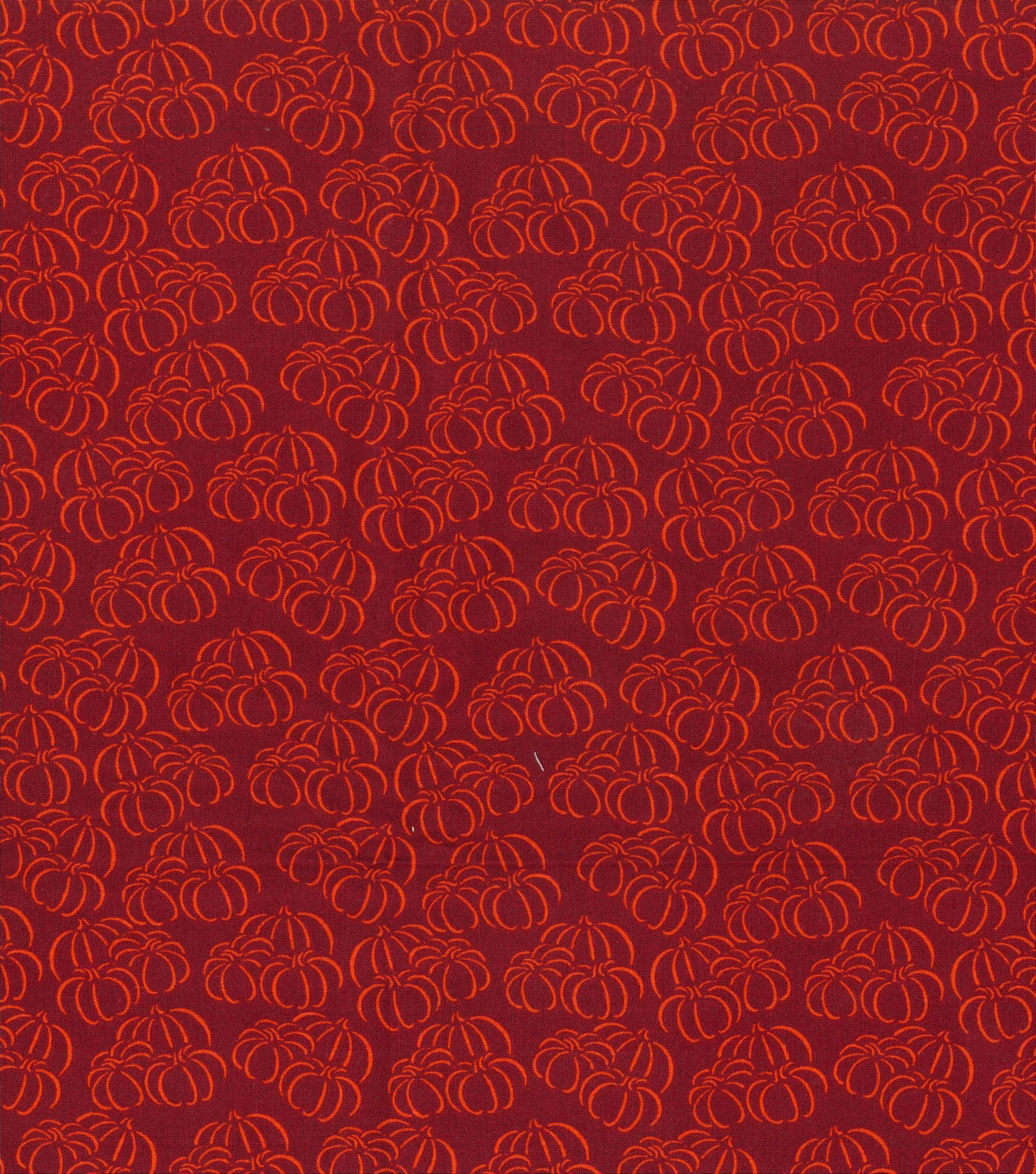 Holiday Showcase™ Harvest Cotton Fabric 43\u0022-Pumpkin Sketch