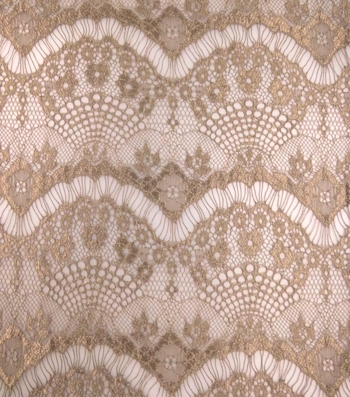 Casa Collection™ Eyelash Lace Fabric 43''-Chocolate Chip