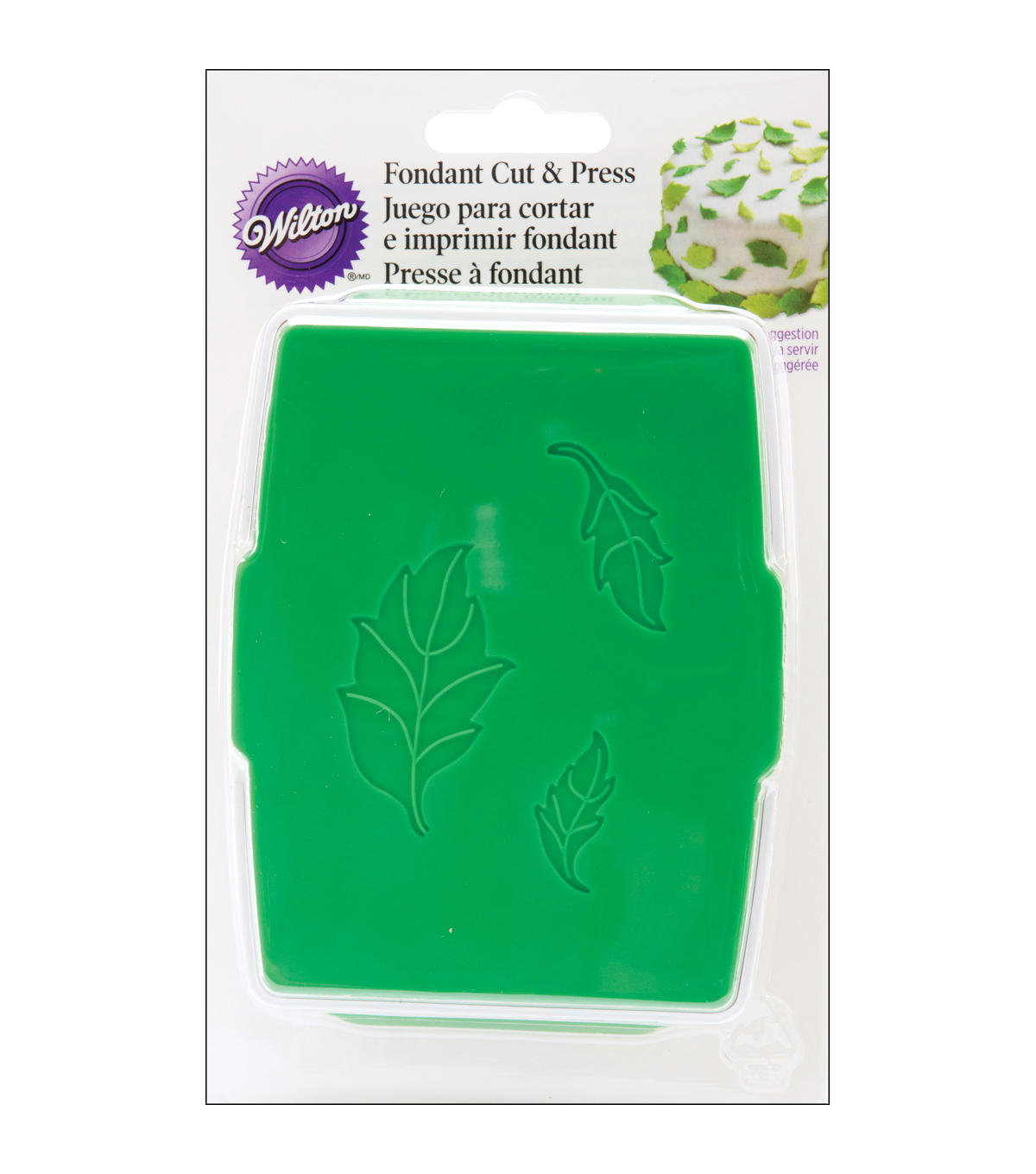Wilton® Rose Leaf Fondant Cut & Press Set