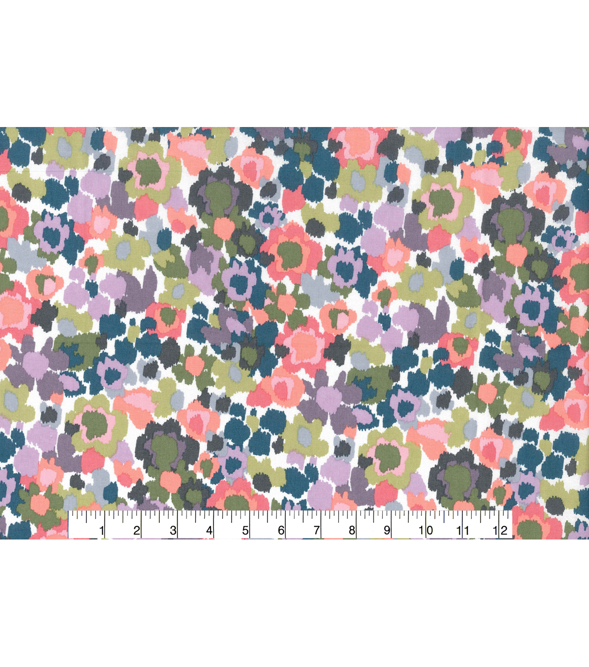 Keepsake Calico™ Cotton Fabric 43\u0022-Abstract Floral Small