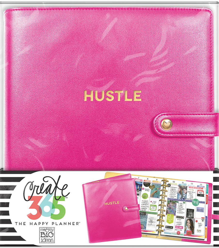 Create 365 Big Deluxe Cover Planner-Berry