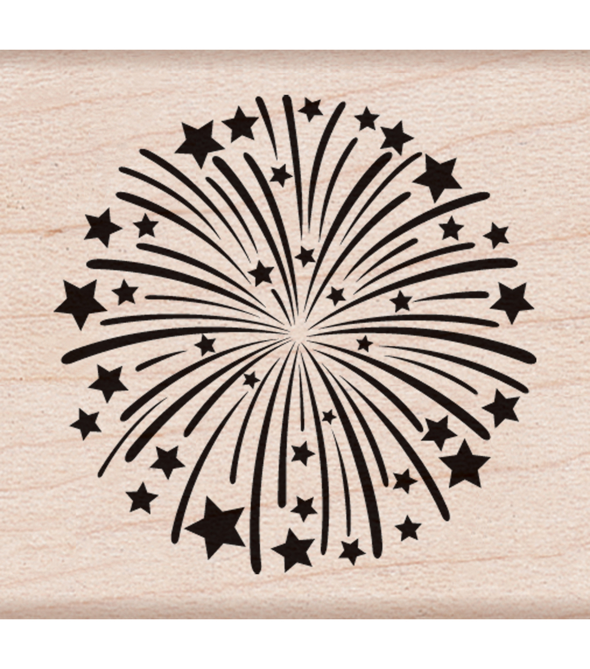 Hero Arts Mounted Rubber Stamps 1.5\u0022X2\u0022-Fireworks