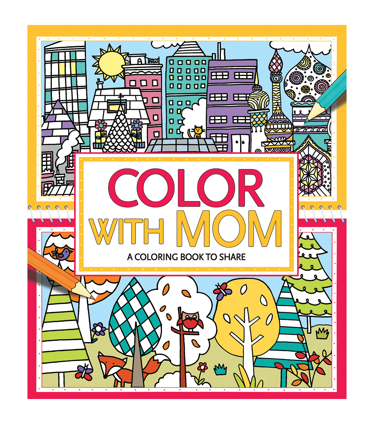 Color With Mom Coloring Book