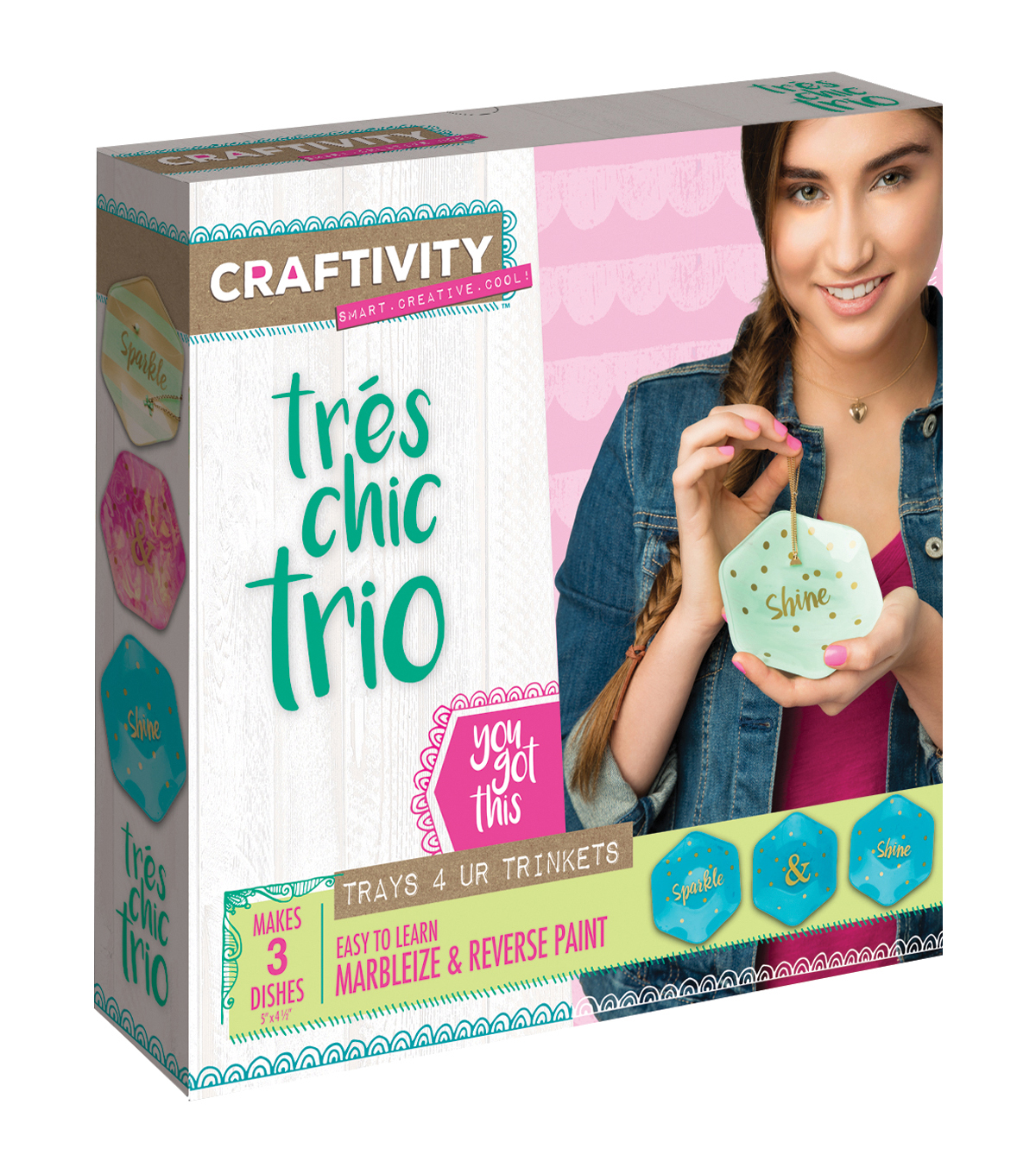 Creativity For Kids Tres' Chic Trio Kit