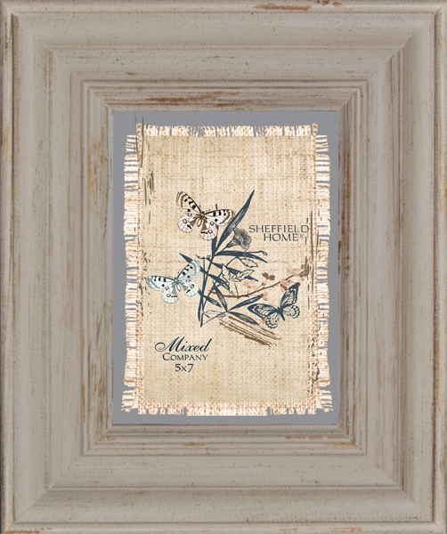 Tabletop Frame 5X7-Distressed Taupe