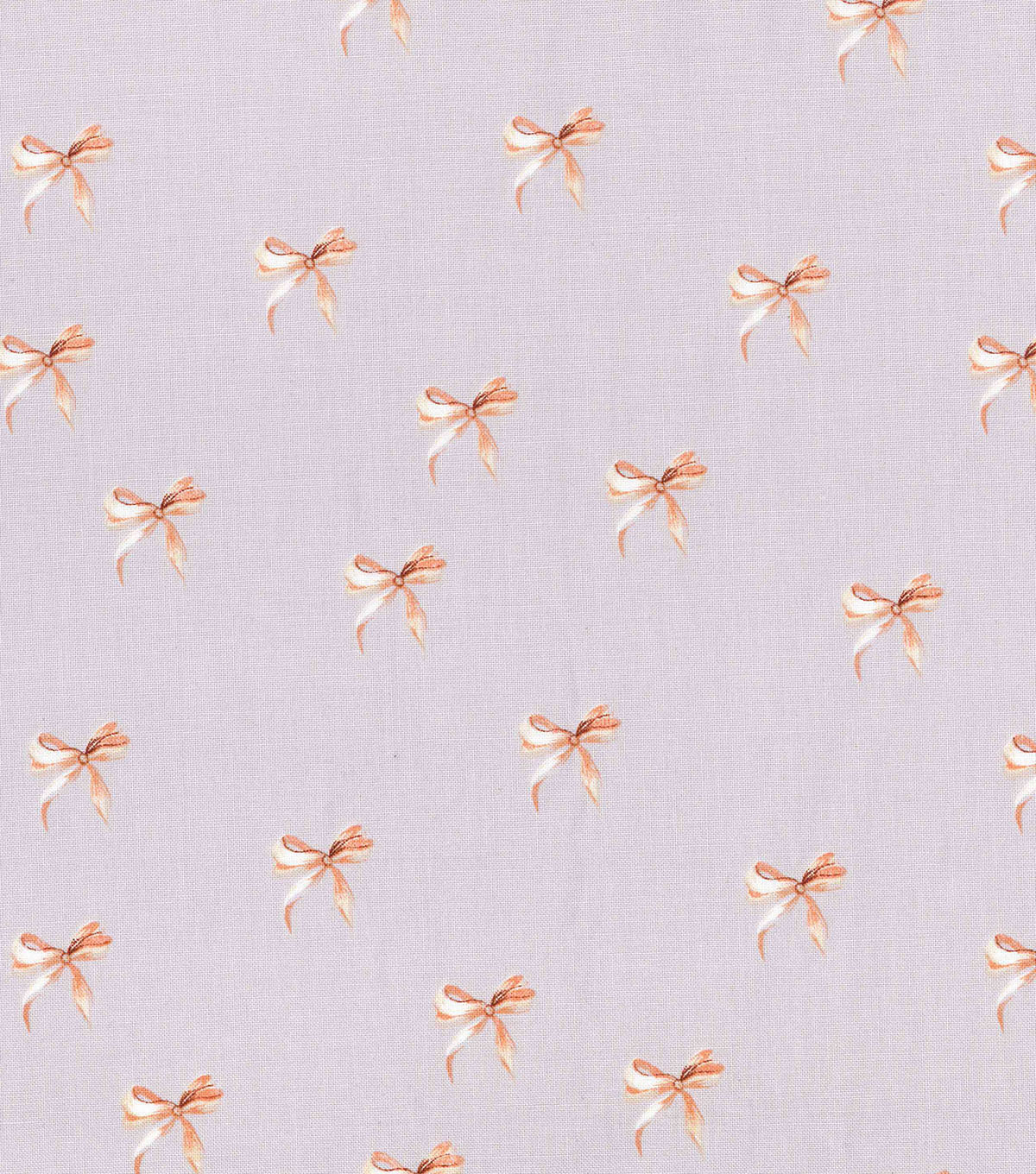"Keepsake Calico™ Cotton Fabric 43""-Gold Bows On Gray"