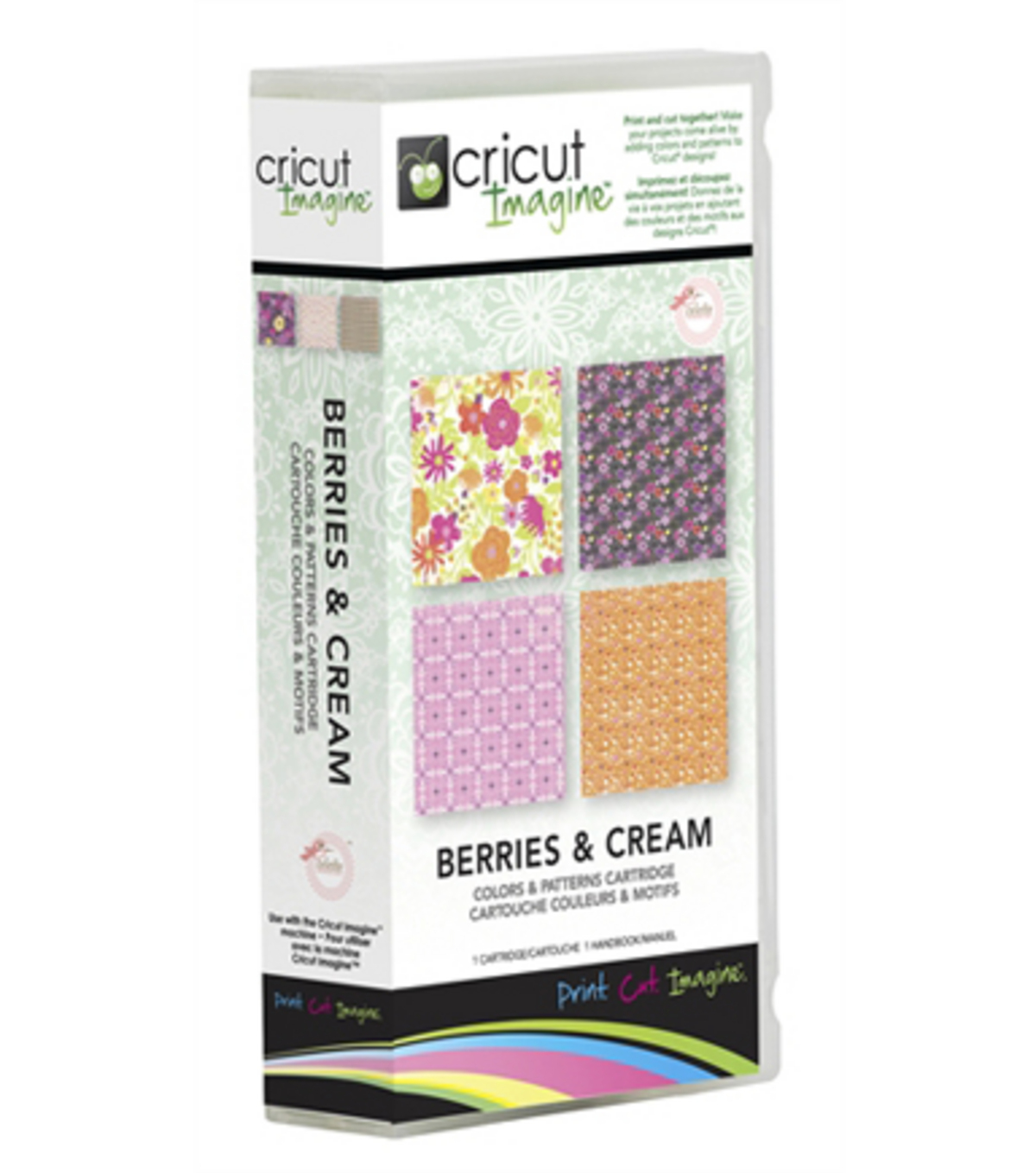 Cricut® Imagine Color & Patterns Cartridge-Berries & Cream