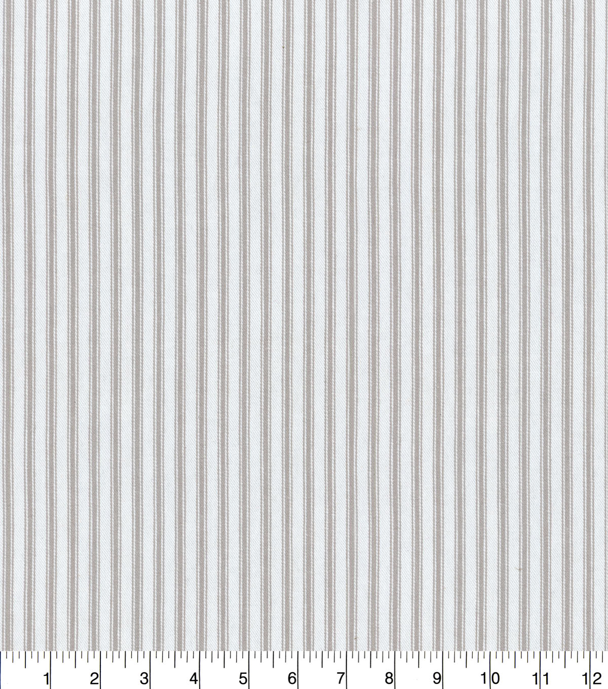 Waverly Upholstery Fabric 55\u0022-Classic Ticking Nickel