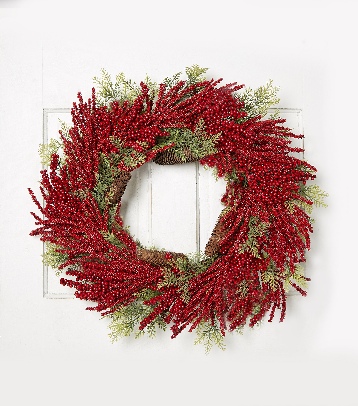 Blooming Holiday 24\u0027\u0027 Berry Wreath