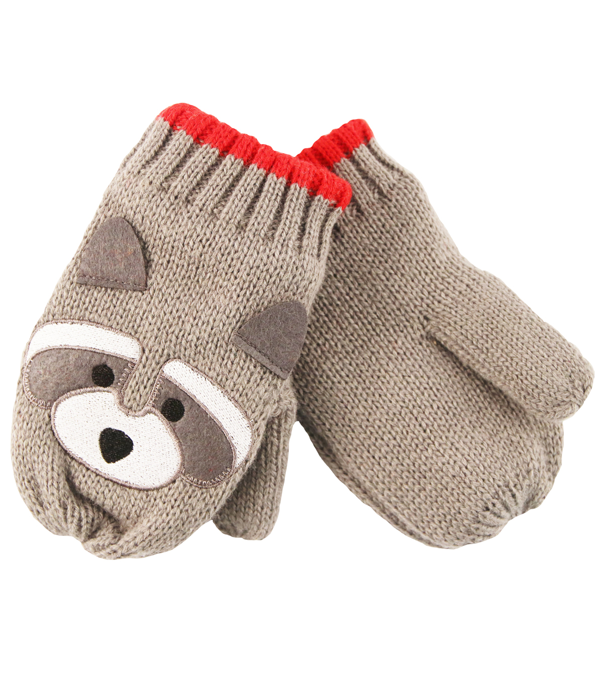 Critter Collection Racoon Mittens