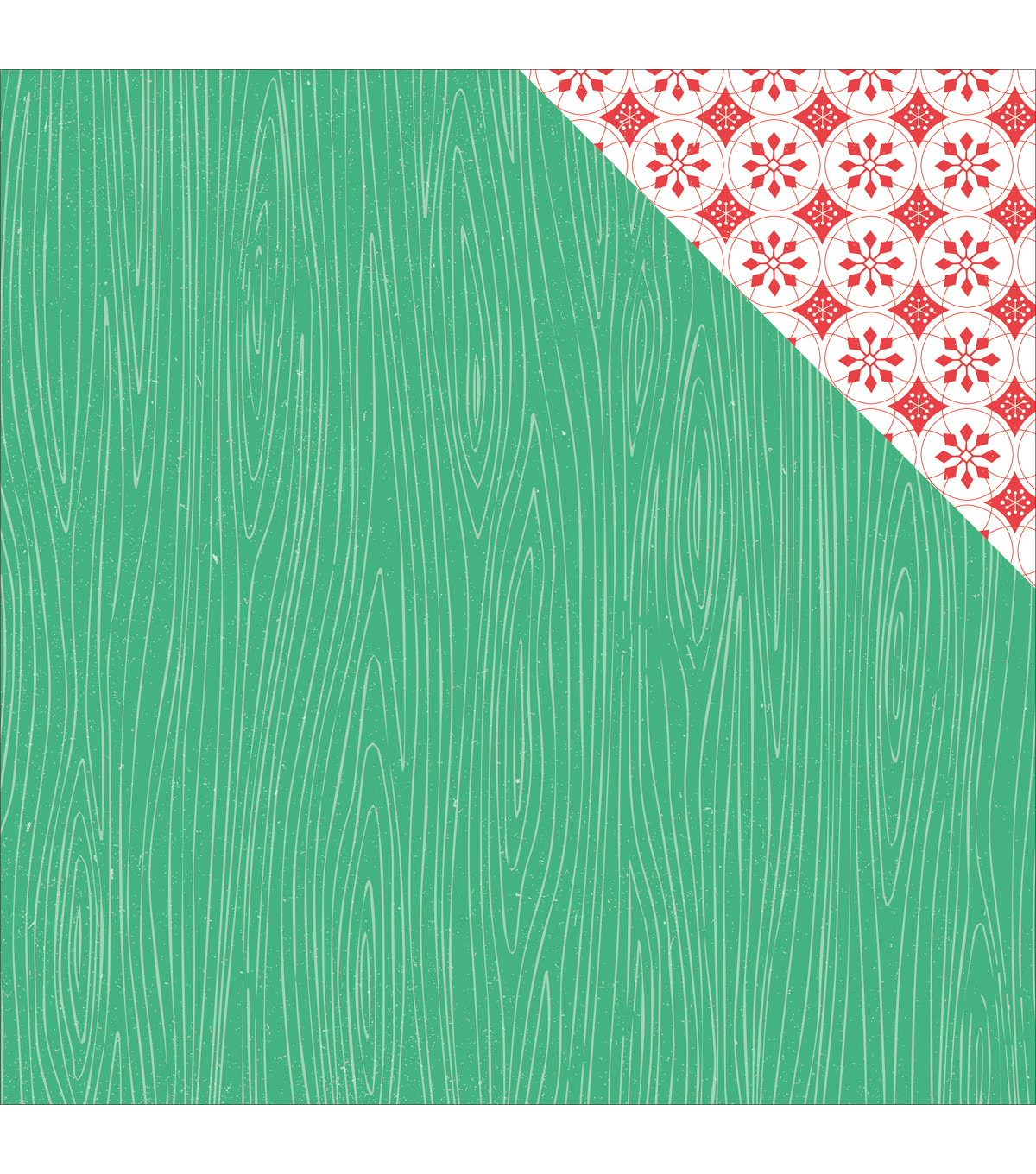 Kaisercraft Holly Jolly Double-Sided Cardstock-Joyous
