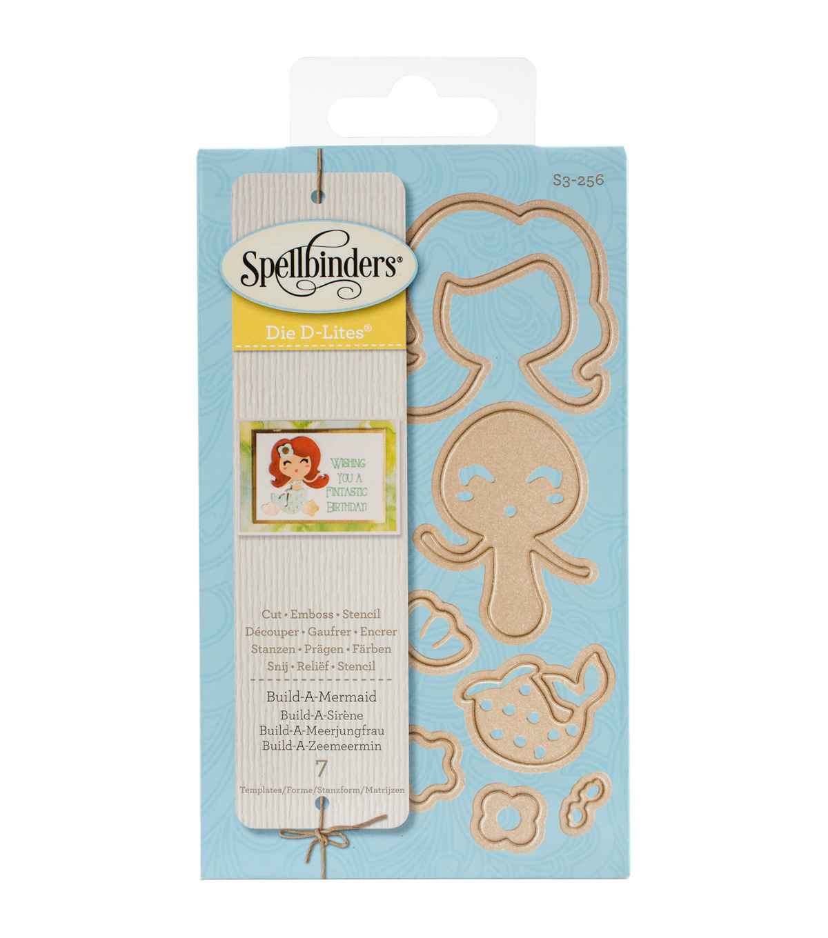 Spellbinders® Shapeabilities® Die D-Lites Die-Build-A-Mermaid