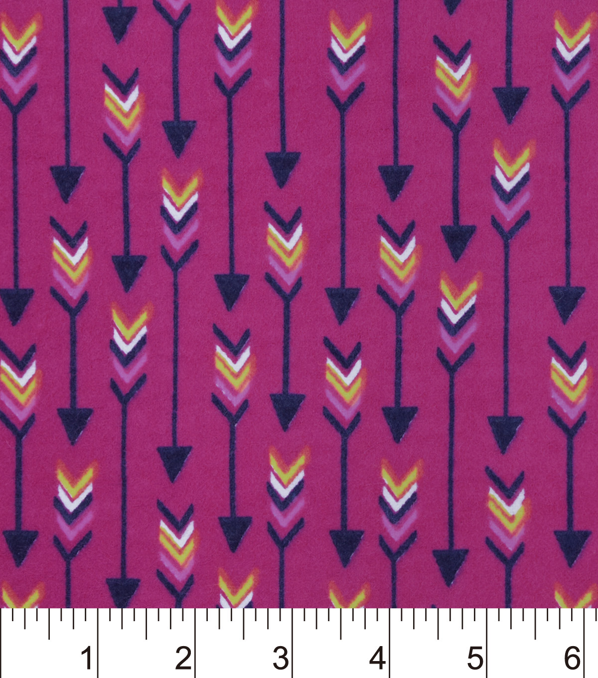 "Snuggle Flannel Fabric 42""-Boho Arrows Pink"