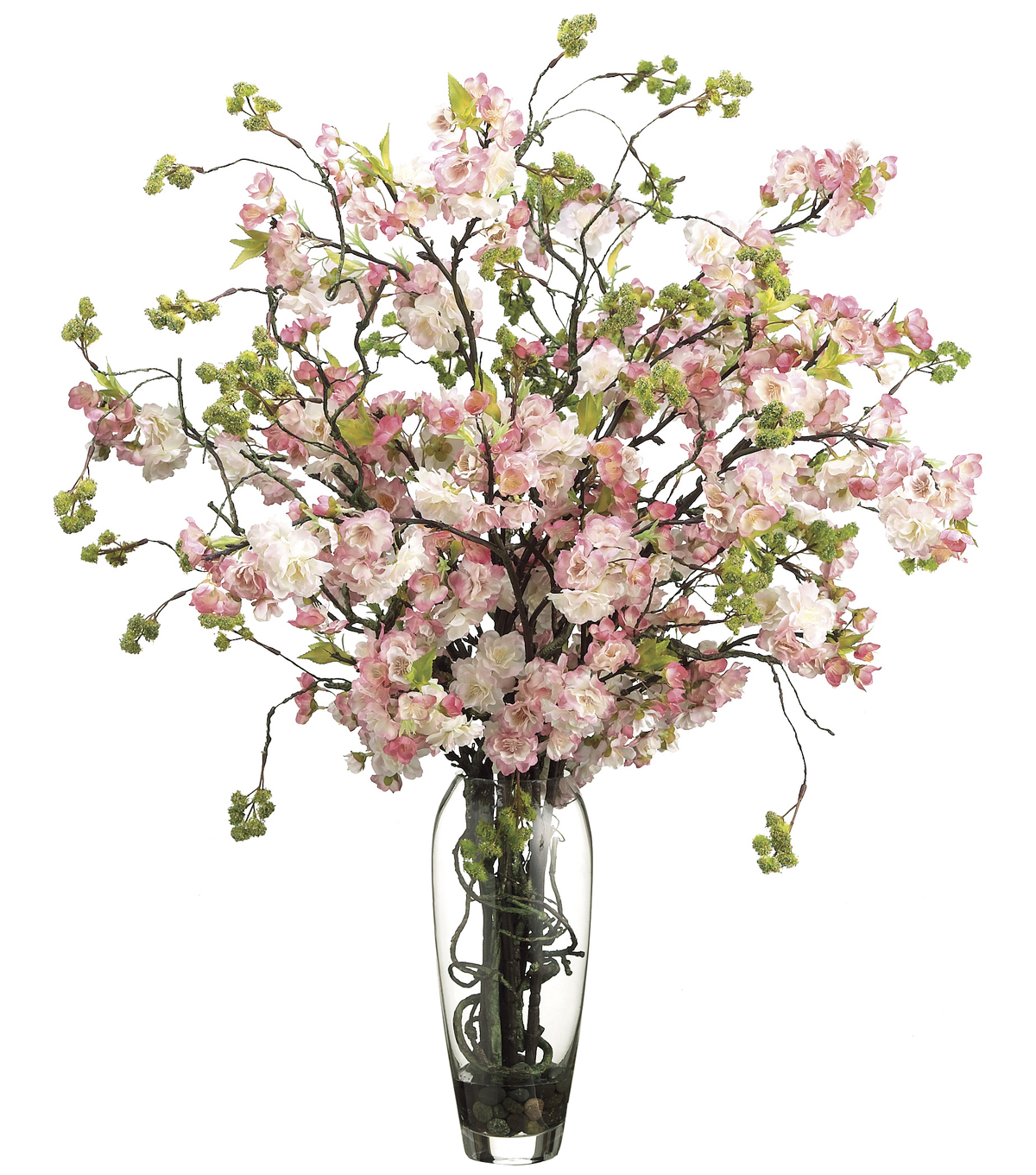 Bloom Room Luxe 35\u0027\u0027 Cherry Blossom In Glass
