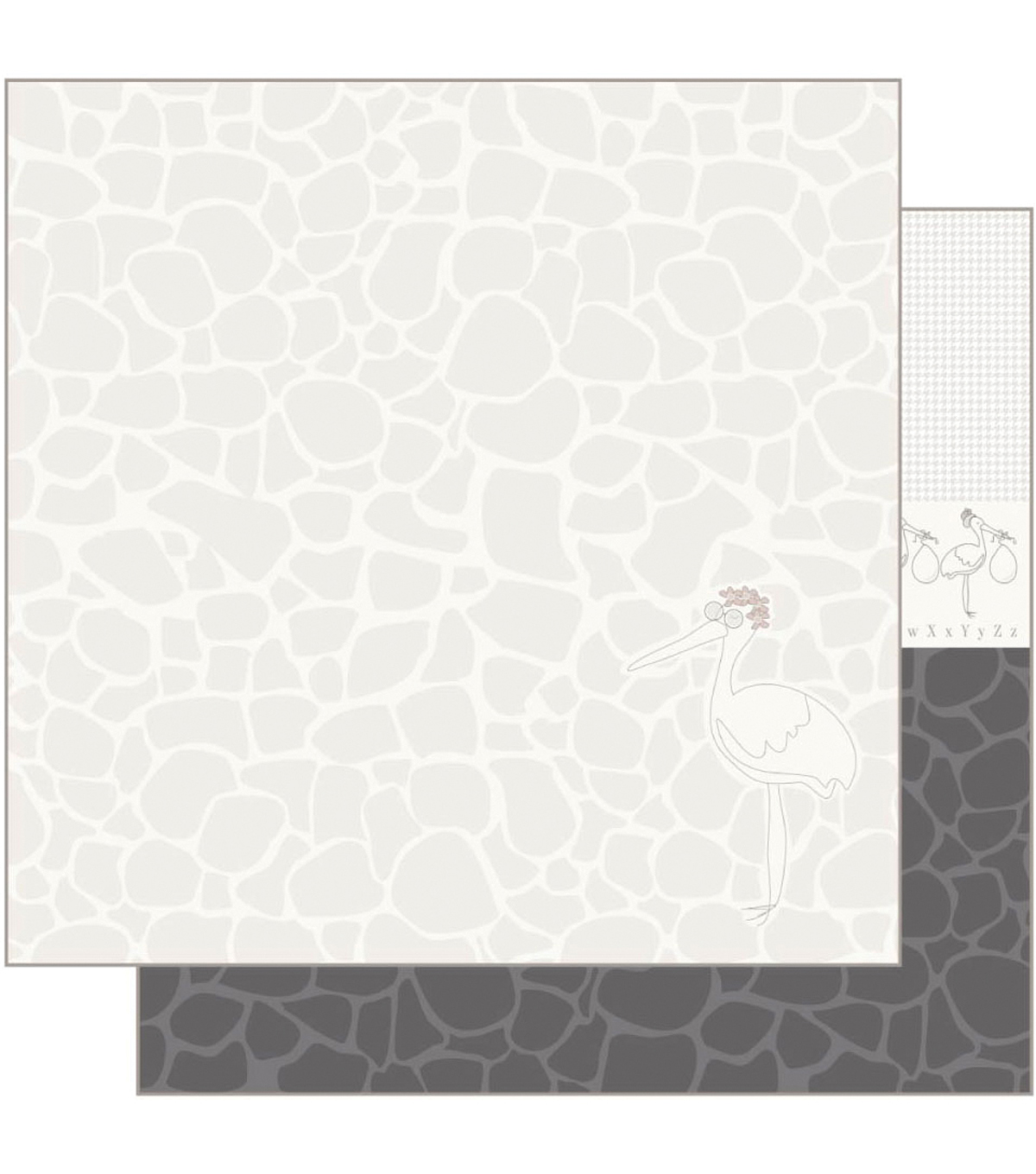 Ruby Rock-It Empire Bebe Foundation 3 Double-Sided Cardstock