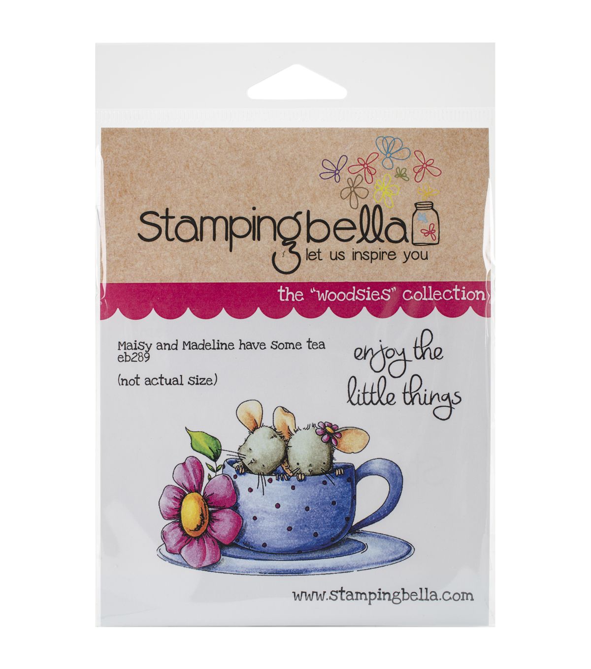 Stamping Bella Maisy & Madeline Have Some Tea Cling Stamp