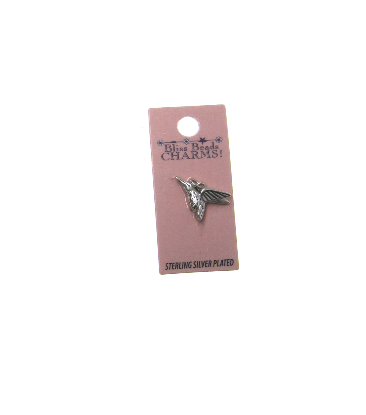 Silver Plated Hummingbird
