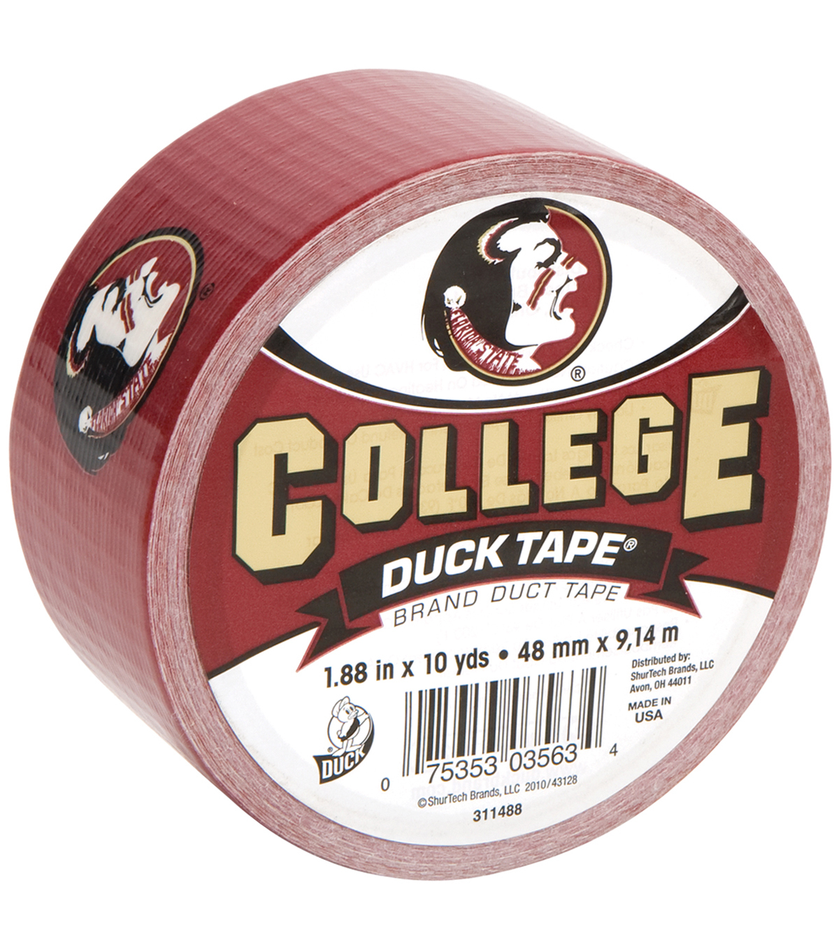 Duck Tape College Logo Florida State