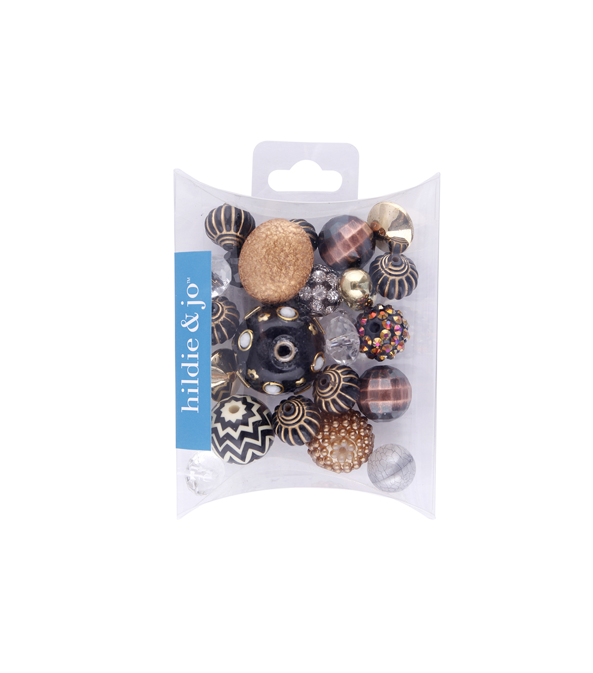 hildie & jo™ Mix Beads-Brown & Black