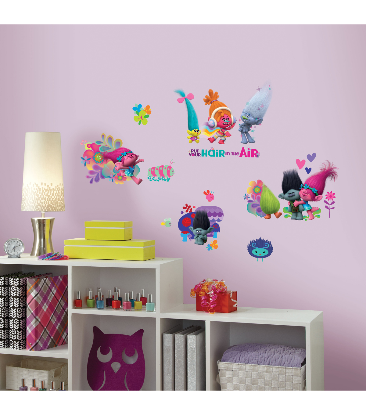 Trolls Wall Decor Trolls Movie Peel Stick Wall Decals On Super Hotels Gives Away Old Cheesy Art During Basel