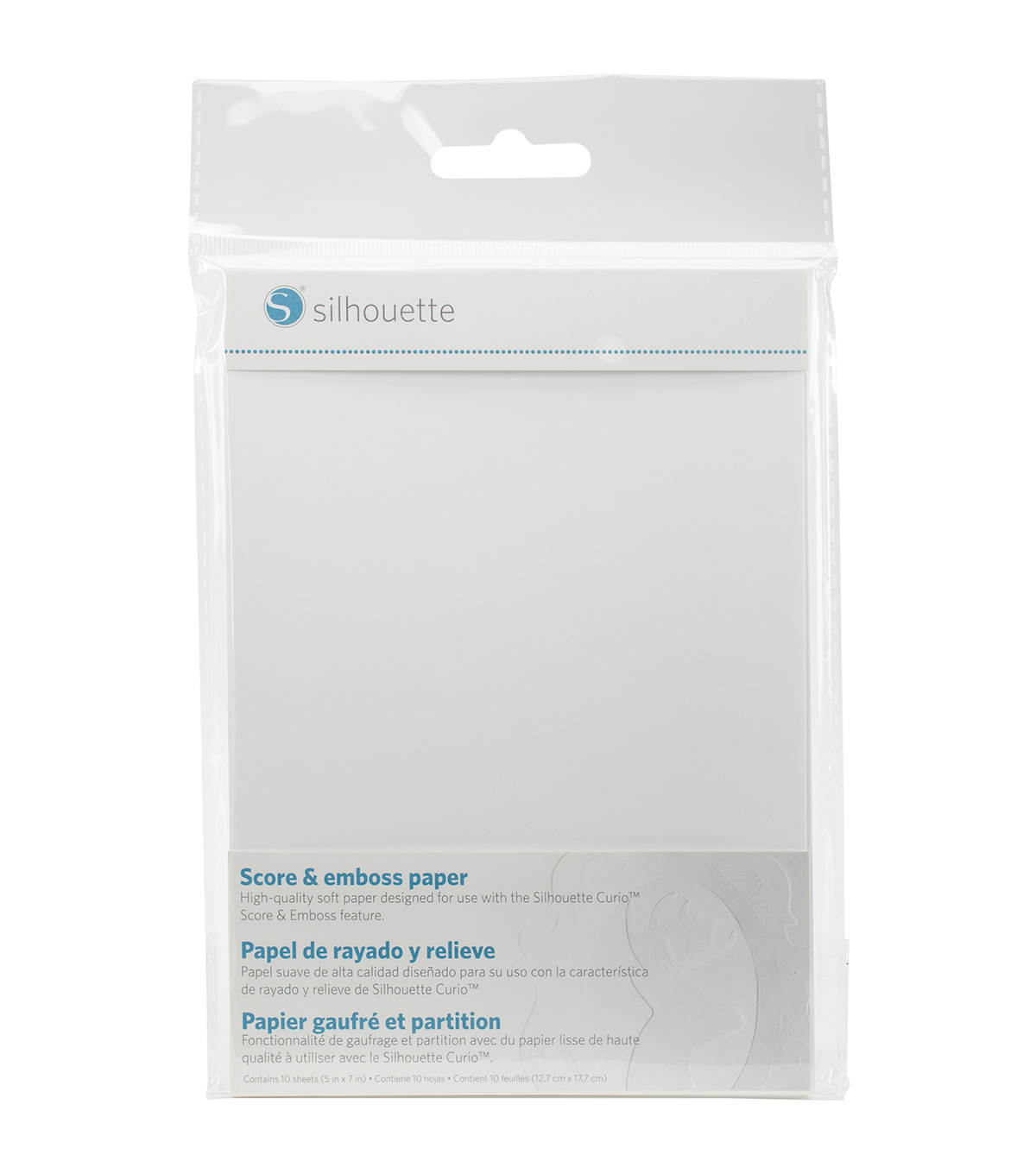 Silhouette of America® 10 Pack 5\u0027\u0027x7\u0027\u0027 Score & Emboss Papers