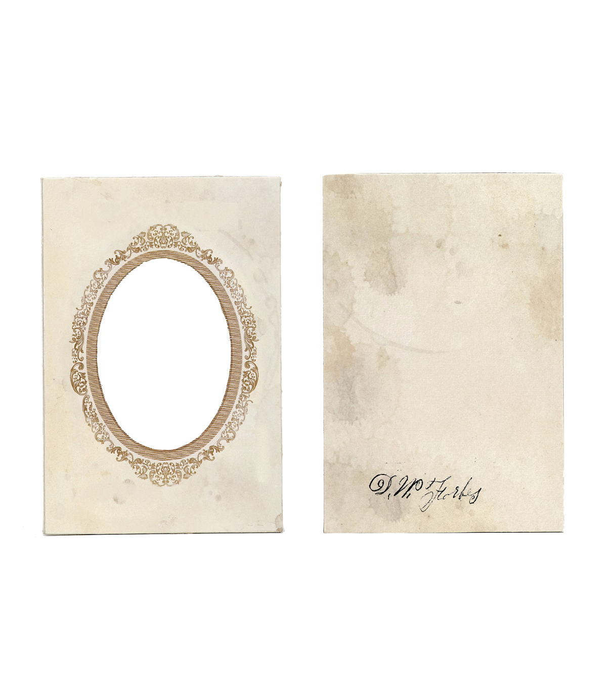 7 Gypsies Vintage Frame Cover Oval