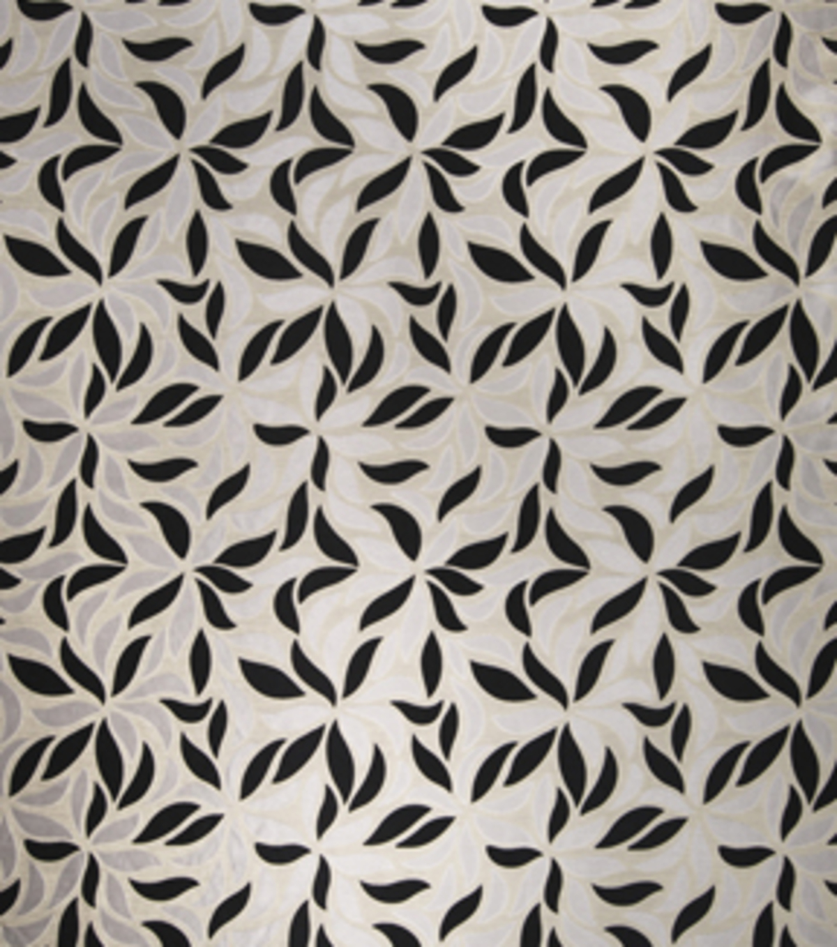 Home Decor 8\u0022x8\u0022 Fabric Swatch-Print Fabric Eaton Square Lewisville Silver