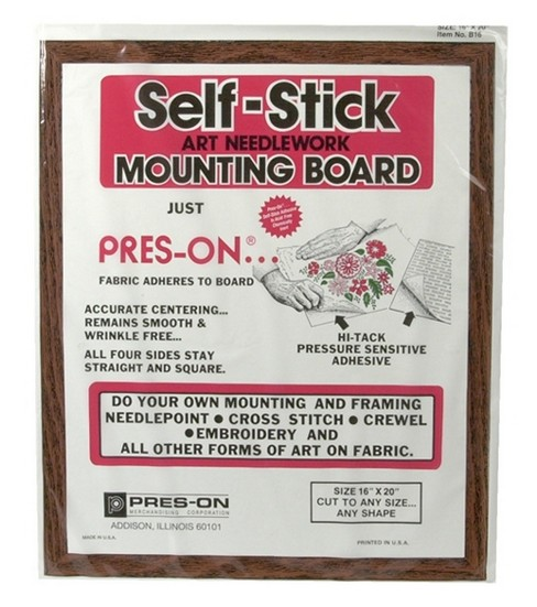 "Pres-On Mounting Board-16""x20"""