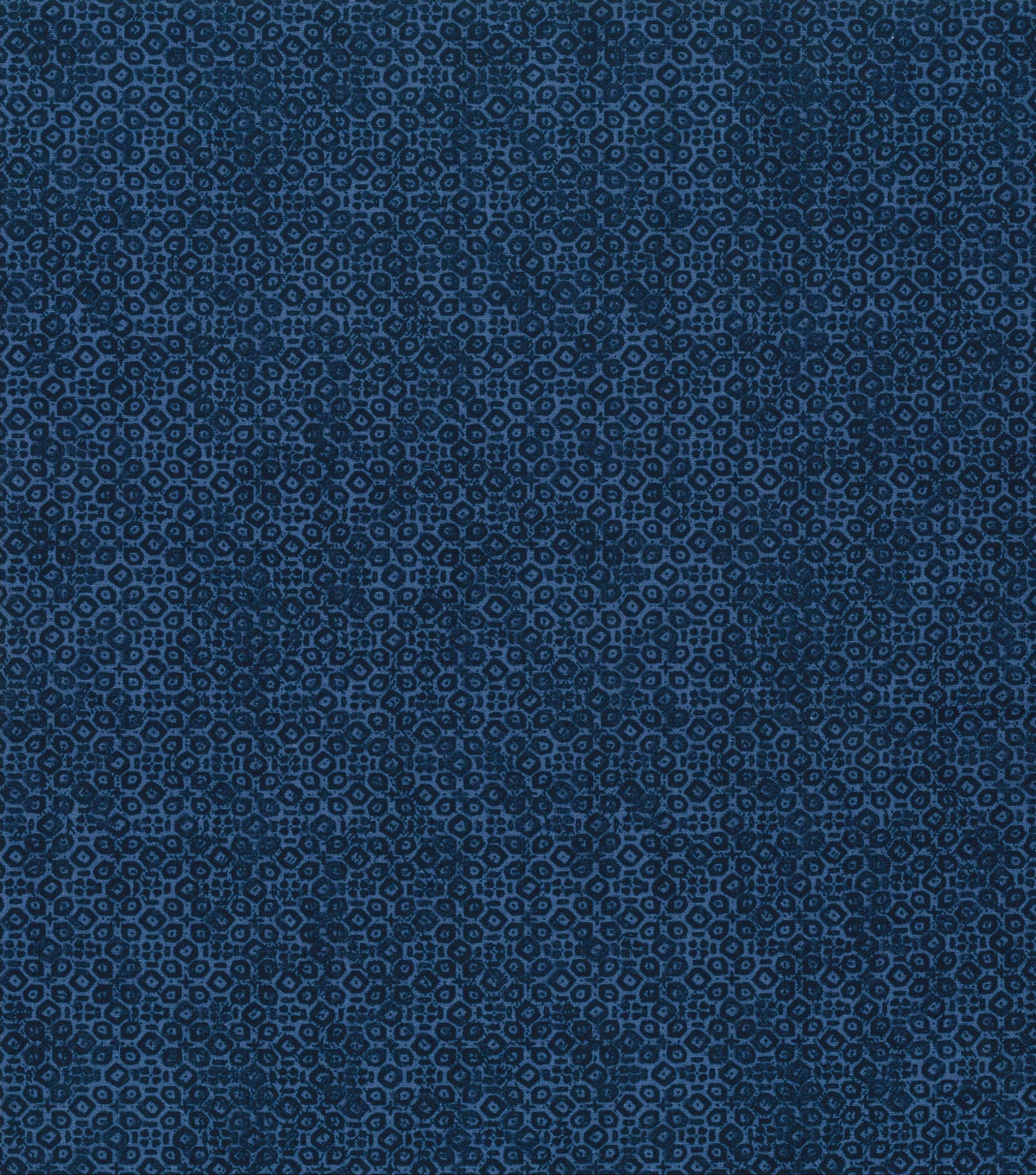 Keepsake Calico™ Cotton Fabric 43\u0022-Coronet Blue Ditsy Geometrics