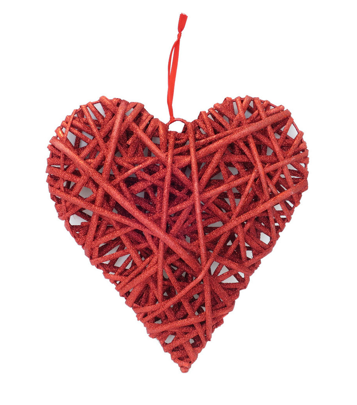 Valentine\'s Day 11\'\' 3D Heart Wall Decor-Red | JOANN