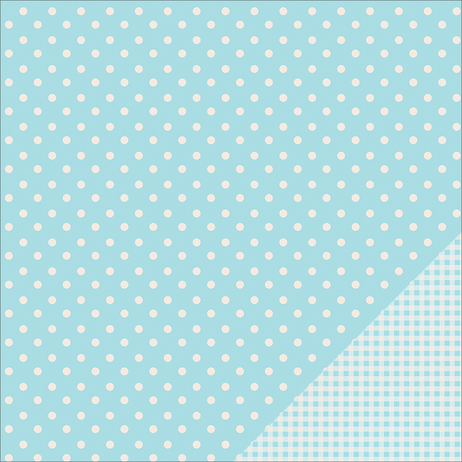 "Pebbles Basics Dot Double-Sided Cardstock 12""x12"""