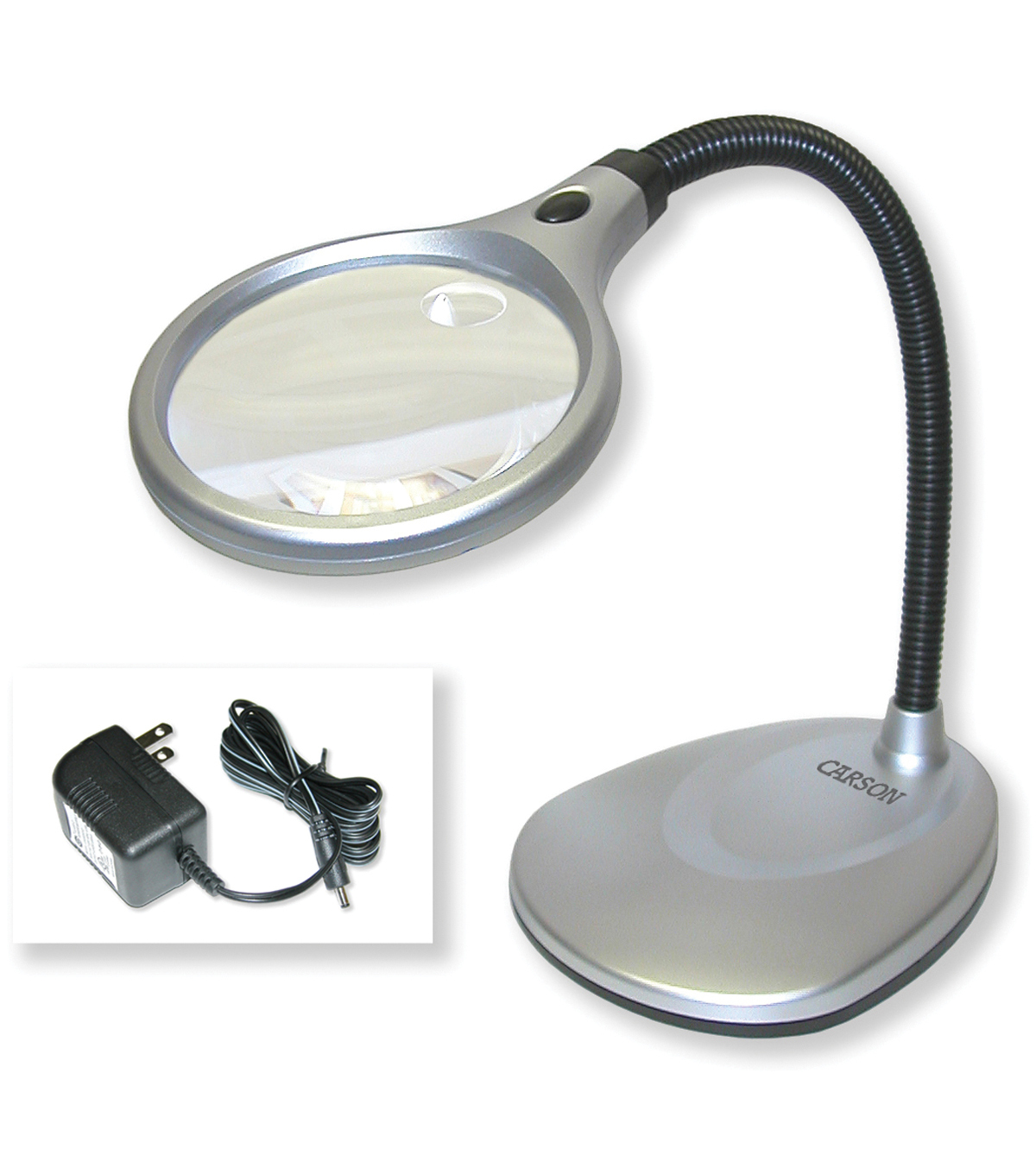 Carson Optical Lighted Deskbrite Magnifier