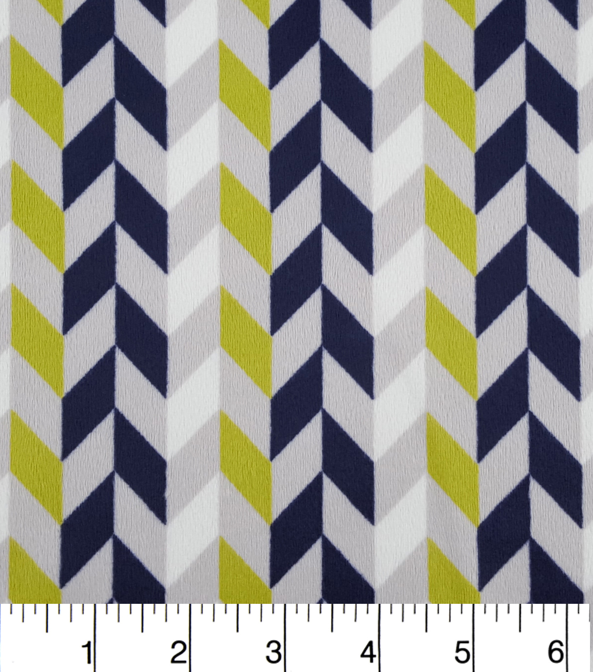 "Soft N Comfy Fabric 57""-Broken Chevron"