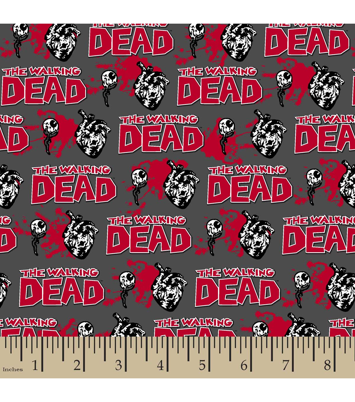 Walking Dead Glow In The Dark Editorial Cotton