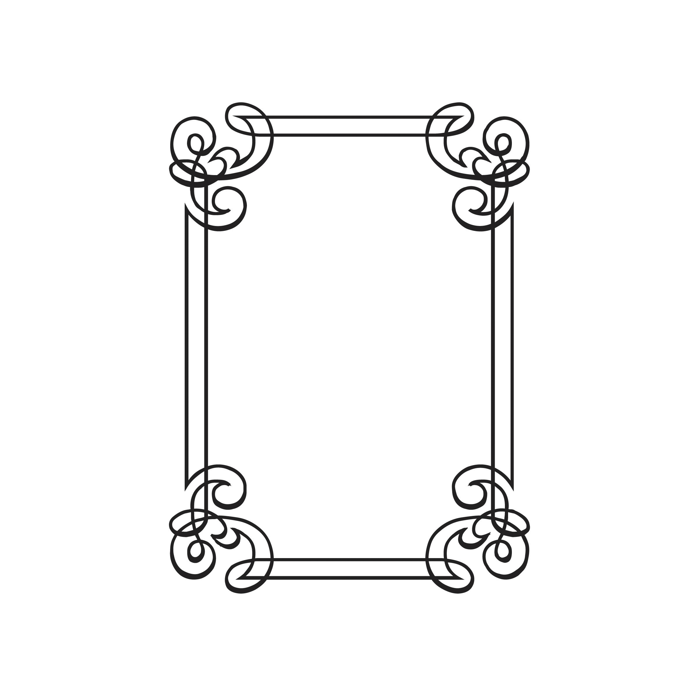 Darice® Embossing Folder - Ornate Border, 4-1/2 x 5-3/4 inches