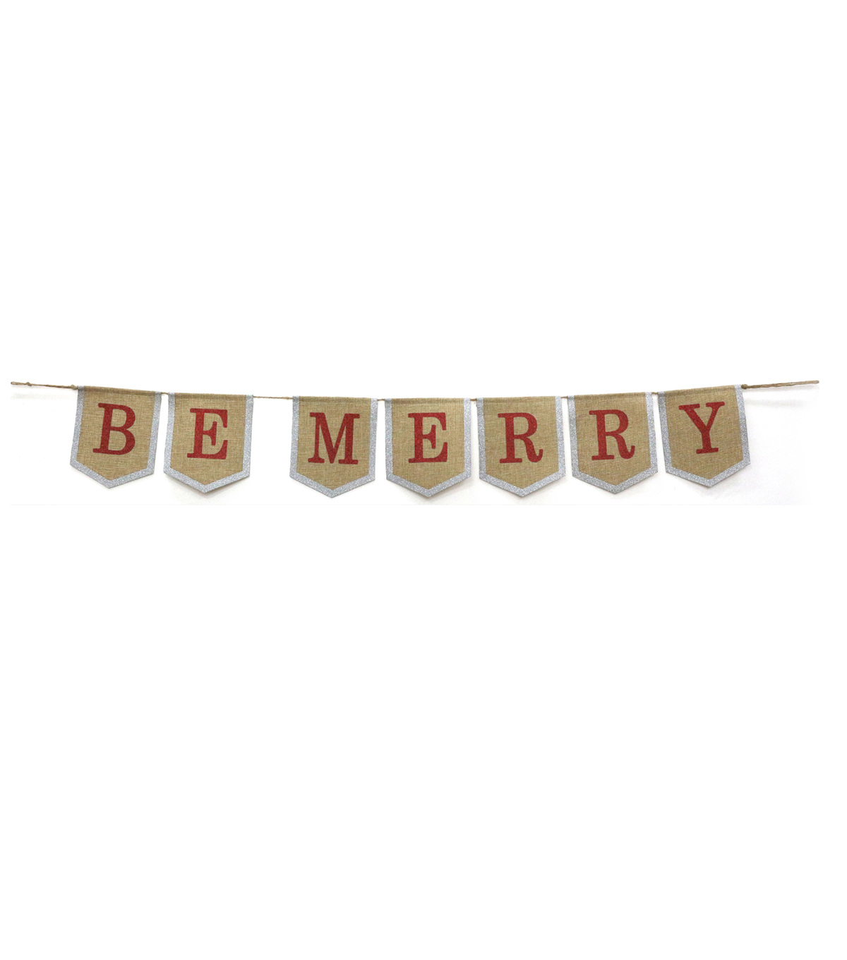 Maker\u0027s Holiday Christmas Banner-Be Merry