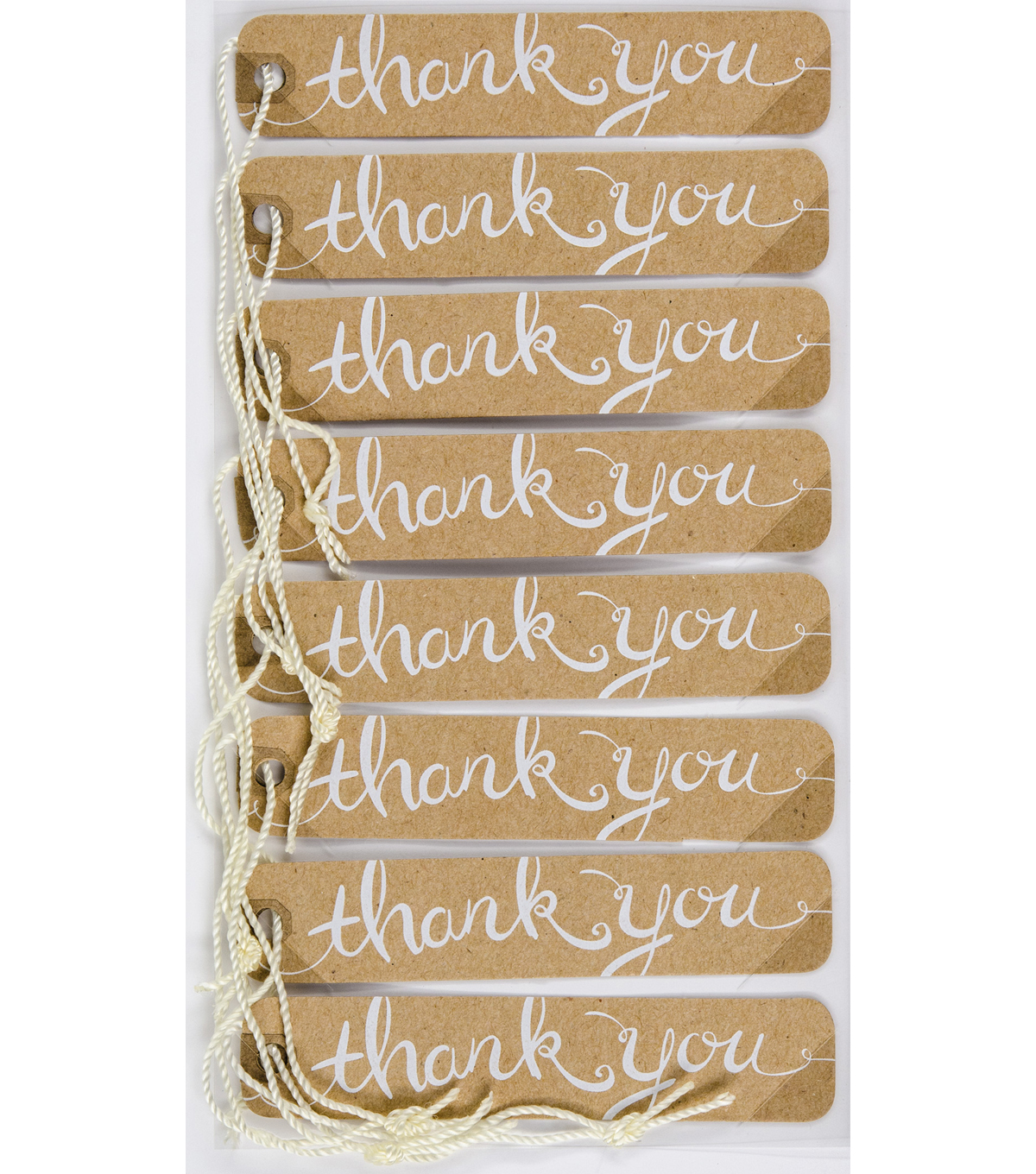 Jolee\u0027s Boutique® 8 Pack 4\u0027\u0027x7\u0027\u0027 Kraft Tags-Thank You