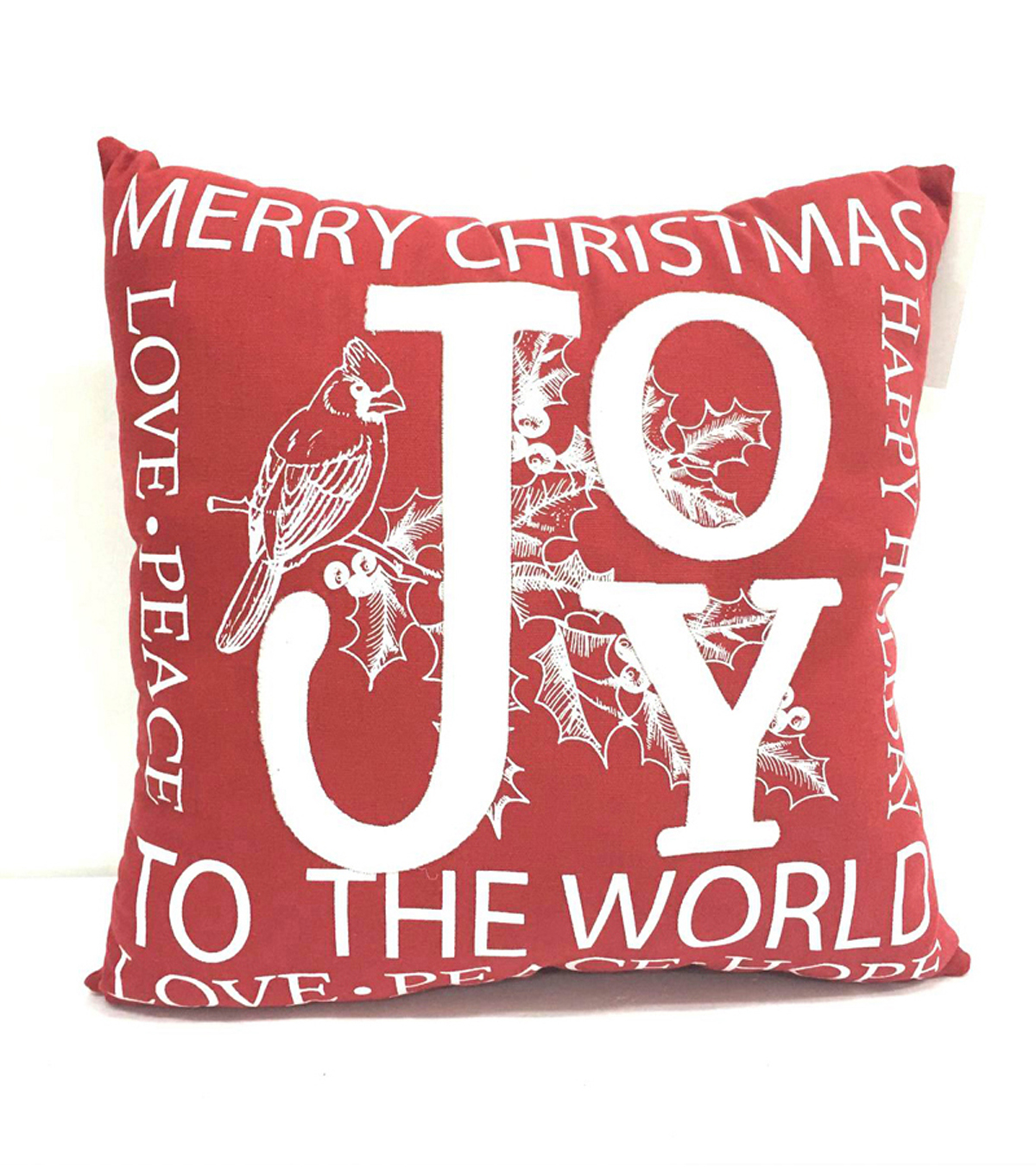 Maker\u0027s Holiday Pillow-Joy To The World