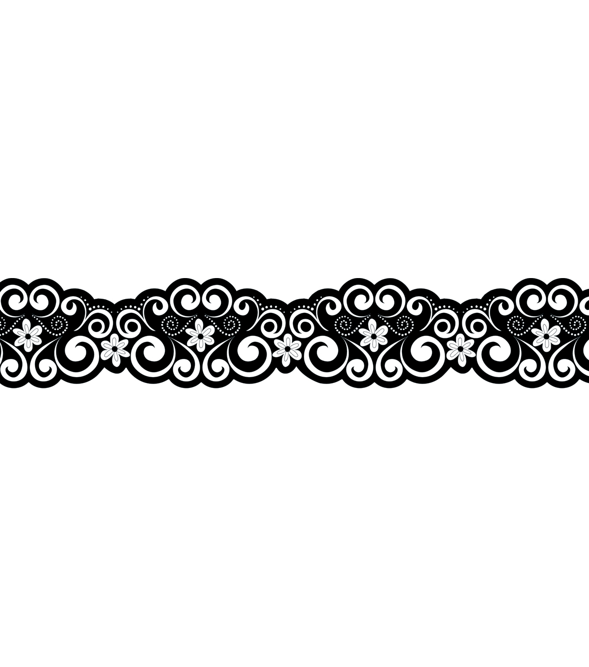 Bw Collection: Classic Curls Border