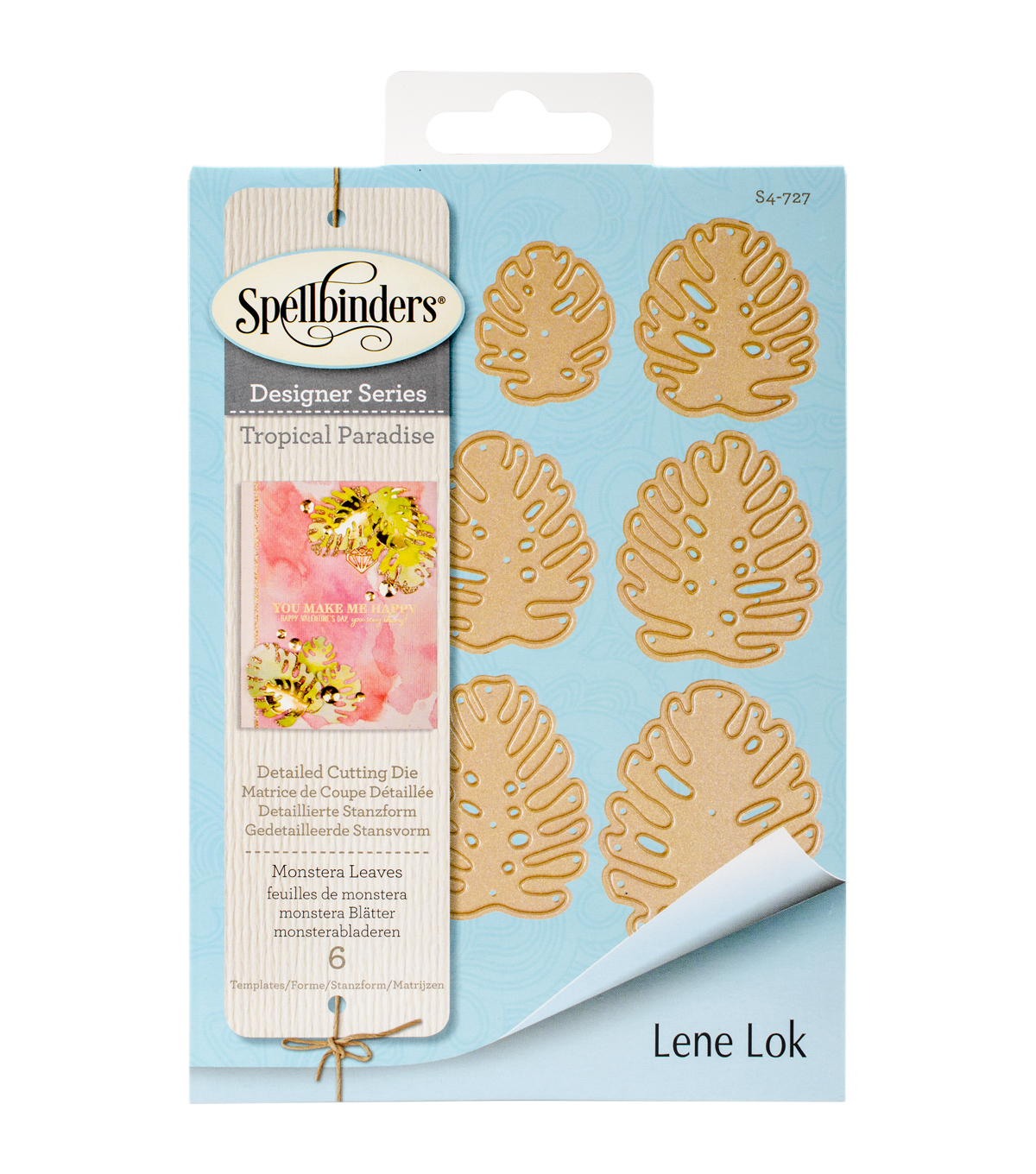 Spellbinders® Shapeabilities® Etched Die-Monstera Leaves